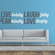 Contemporary Wall Decals by Wall Star Graphics