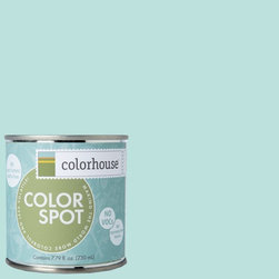 ColorSpot Eggshell Interior Paint Sample, Dream .02,  8-oz - Test color before you paint with the Colorhouse Colorspot 8-oz  paint sample. Made with real paint and in our most popular eggshell finish, Colorhouse paints are 100% acrylic with NO VOCs (volatile organic compounds), NO toxic fumes/HAPs-free, NO reproductive toxins, and NO chemical solvents. Our artist-crafted colors are designed to be easy backdrops for living.