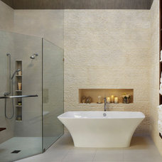 Contemporary Bathroom by Susan Lachance Interior Design