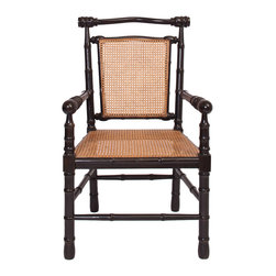 CHAIRS - Faux Bamboo Dining Chair