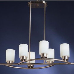 Kichler Lighting - Kichler Lighting - 3031NI - Modena - Six Light Inverted Pendant - Bulb Not Included