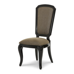 After Eight Side Chair, Black Onyx