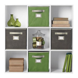 Martha Stewart Living - Martha Stewart Living™ 9-Cube Organizer - With the Martha Stewart Living™ 9-Cube Organizer, you'll discover space you never knew you had. Featuring a smart design that will help you tackle even the most daunting storage problems, this affordable cube organizer can be easily arranged with other Martha Stewart Living™ organization pieces to accommodate your expanding storage needs. Add one to your kid's room, garage, home office, or anywhere else in need of stylish storage. Includes four open cubes and five with backs. Order several for a complete home storage solution.