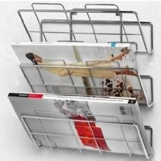 Amazon.com: Spectrum 3-Tier Wall-Mount File Holder and Magazine Rack: Home & Kit
