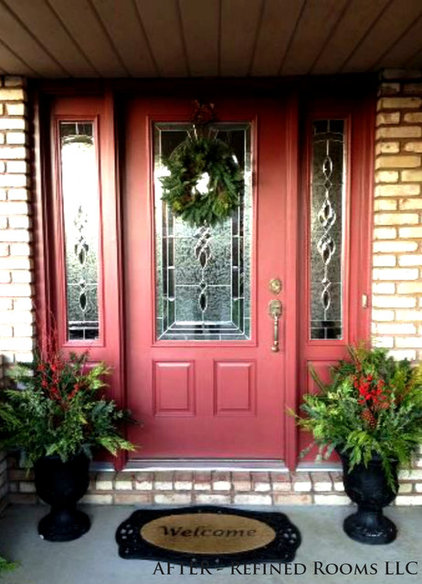 Traditional Exterior by Refined Rooms LLC