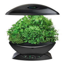 AeroGarden Classic 7-pod with Gourmet Herb Seed Kit, Black - This is a cool way to have an indoor vegetable garden, and you can grow more than just herbs!