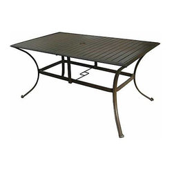 Panama Jack Island Breeze Rectangular Dining Table