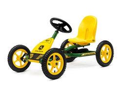 BERG - BERG John Deere Buddy Pedal Kart - He may be small but he will feel all grown up when he has his BERG John Deere Buddy Pedal Kart to ride around the block.
