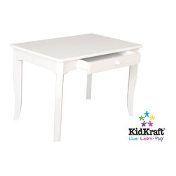 KidKraft - Brighton Table - White, Heirloom Quality by Kidkraft - Our Brighton Table makes playtime much easier to manage. This is an ideal table for any child activity, whether it's a school project, board game or tea party.