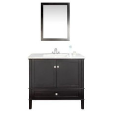 Contemporary Bathroom Vanities And Sink Consoles by Home Depot