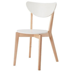 modern dining chairs and benches by IKEA