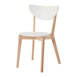NORDMYRA Chair | IKEA - This simple chair blends seamlessly with many surroundings, and at that price, I could easily think of a place or two where it could be useful around the house.