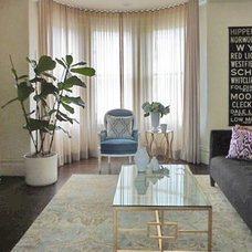 Eclectic Curtains by Stitch Custom Furnishings