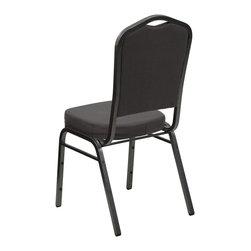 Flash Furniture - Flash Furniture Banquet Stack Chairs Banquet Stack Chairs - This is one tough chair that will withstand the rigors of time. With a frame that will hold in excess of 500 lbs., the HERCULES Series Banquet Chair is one of the strongest banquet chairs on the market. You can make use of banquet chairs for many kinds of occasions. This banquet chair can be used in Church, Banquet Halls, Wedding Ceremonies, Training Rooms, Conference Meetings, Hotels, Conventions, Schools and any other gathering for practical seating arrangements. The banquet chair is also great for home usage from small to large gatherings. For any environment that you use a banquet chair it will put your guests at a greater comfort level with the padded seat and back. Another advantage is the stacking capability that allows you to move the chairs out of the way when not in use. With offerings of comfort and durability, you can be assured that you can enjoy this elegant stacking banquet chair for years to come. [FD-C01-SILVERVEIN-GY-GG]