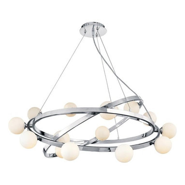 Access Lighting - Nitrogen Collection Cable Articulating Chandelier Bulbs Included - Great lighting is a great solution.