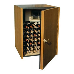 Vinotemp - VINO-114-WP 80 Bottle Wine Cellar Cooler with 80 Bottle Capacity  White Paint - Vinotemp wine cabinets are complete wine storage solutions handcrafted with domestic woods in Southern California They maintain an ideal environment for both short-term storage and long-term aging for all types of wines Wine cabinets from Vinotemp ar...