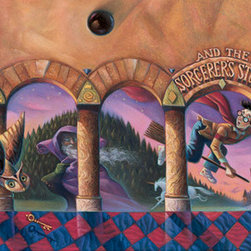 "Clampett Studio Collections - Harry Potter: ""Harry Potter & The Sorcerer's Stone"" Giclee On Paper - Artist: Mary GrandPre"