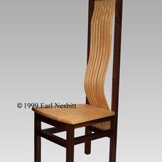 Contemporary Chairs by Earl Nesbitt Fine Furniture