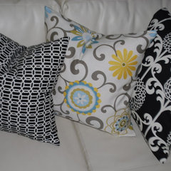 contemporary pillows Custom Pillows