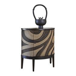 Ambella Home - New Ambella Home Ahsaki Cabinet Demilune - Product Details