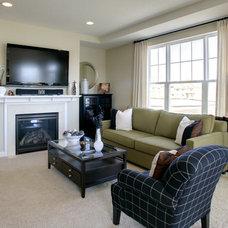 Contemporary Living Room by KSID Studio, LLC