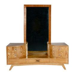 SOLD OUT! Paul Frankl for Brown Saltzman Vanity Dresser - $4,800 Est. Retail - $ -
