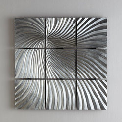 Quantum Flux Wall Sculpture