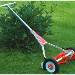 Clipper USA 19-Inch Reel Mower - Plan a greener garden in more ways than one this year by trading in your gas-powered mower for a traditional reel version. Perfect for smaller yards, this classic push mower will give you your workout while trimming the grass.