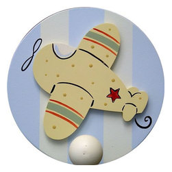 Wish Upon A Star - On Sale Airplane Wall Peg - Set of Two - Airplane Wall Peg - Set of Two