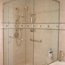 Traditional Bathroom by Emily Nagel Interior Design