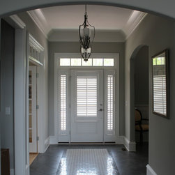 Shutter on Doors & Sidelights - Aaron Y