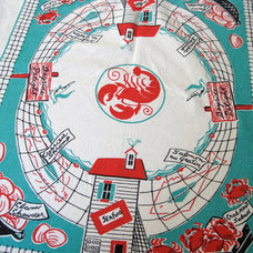 Contemporary Tablecloths by Etsy