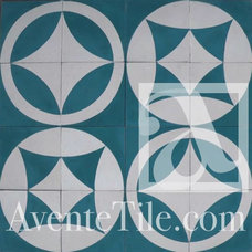 Contemporary Floor Tiles by Avente Tile
