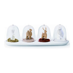 Animal Parade Spice Shaker Set -