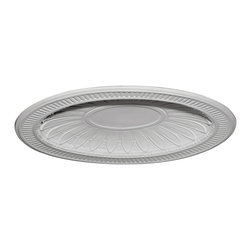 "Ekena Millwork - Devon Recessed Mount Ceiling Dome (39""W x 31""H x 3""D Rough Opening) - 45""W x 35 1/2""H x 3 3/4""D Devon Recessed Mount Ceiling Dome (39""W x 31""H x 3""D Rough Opening). Urethane ceiling domes enhance interiors with rich texture and traditional appeal. Many of our urethane ceiling domes include classic decorative details, ranging from floral motifs to crisp moulding. Whether you seek something subtle or ornate, we have a urethane ceiling dome for you. Each ceiling dome is factory primed and ready for your paint or faux finish. Each dome is manufactured out of a high density urethane foam, which is great for durability, but is also lighter than other materials to make installation a snap. Enhance your room with a beautiful ceiling dome focal piece."