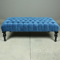 grayson cocktail ottoman - please e-mail us at info@redinfred.com for more information + purchasing availability