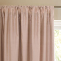 Serena & Lily - Silk Shantung Window Panel  Blush - Don't be intimidated by silk. It's a versatile fabric that can add high fashion to a room, or blend into a more casual lifestyle. Our panels deliver all the luxury silk dupioni is known for and all the beauty of its natural rawness, too. The matte finish and neutral shades make them so easy to work with.