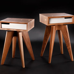 modern side tables and accent tables by Jory Brigham Design