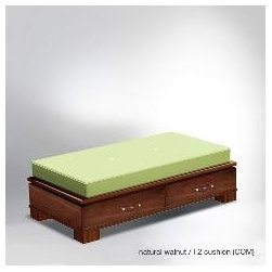morgan bonding bench - Transitions into a stylish ottoman.