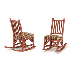 Rustic Rocking Chair #1195 by La Lune Collection - Rustic Rocking Chair #1195 by La Lune Collection