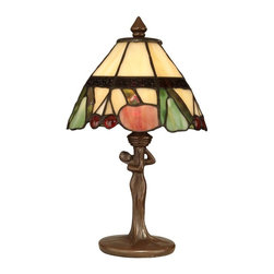 Dale Tiffany - New Dale Tiffany Accent Lamp Bronze Tiffany - Product Details