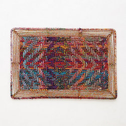 Anthropologie - Handwoven  Doormat, Multi - Most welcome mats are the ugliest things ever, but this one — this one makes me swoon. I think I would smile each time I wipe my feet on it.