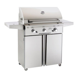 American Outdoor Grill - Portable LP Grill with 540 sq. in. Cooking Area - AOG Portable Outdoor Grills can be used on the patio, deck, by the pool, in the shade, or just about anywhere! All heavy duty stainless steel construction