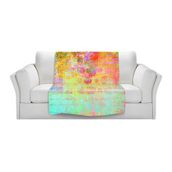 DiaNoche Designs - Throw Blanket Fleece - Hybrid Ocean - Original Artwork printed to an ultra soft fleece Blanket for a unique look and feel of your living room couch or bedroom space.  DiaNoche Designs uses images from artists all over the world to create Illuminated art, Canvas Art, Sheets, Pillows, Duvets, Blankets and many other items that you can print to.  Every purchase supports an artist!