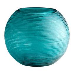 Cyan Design - Cyan Design 04361 Large Round Libra Vase - Cyan Design 04361 Large Round Libra Vase