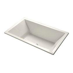 KOHLER - KOHLER K-1137-0 Underscore 6' Acrylic Bathtub - KOHLER K-1137-0 Underscore 6' Acrylic Bathtub in White