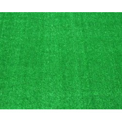 Dean Flooring Company - Dean Indoor/Outdoor Carpet Green Artificial Grass Turf Area Rug 8' x 10' - Dean Indoor/Outdoor Carpet Green Artificial Grass Turf Area Rug 8' x 10' : Indoor/Outdoor Green Artificial Grass Turf Area Rug Size: 8' x 10' 100% UV olefin green artificial grass rug Easy care and cleaning with bleach and water Made in U.S.A. Machine made Stain and fade resistant Portable Great Price (compare to big boxes)! Great for use under party/event/wedding tents and canopies. Also great for decks, patios, yards, parks, picnics, camping, boats, and other outdoor uses! This rug is ideal for: pools decks patios under grills on docks taking with you when traveling in your RV (roll it out at your door when you park) picnics party tents wedding tents event tents camping Please note: The edges of this rug are unbound.