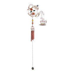 GSC - Wind Chime Copper & Gem Teapot Hanging Garden Decoration Collection - This gorgeous Wind Chime Copper & Gem Teapot Hanging Garden Decoration Collection has the finest details and highest quality you will find anywhere! Wind Chime Copper & Gem Teapot Hanging Garden Decoration Collection is truly remarkable.