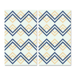 Design Your Wall - Crossover - Wallpaper Tiles - Featured Designs by Astek Inc