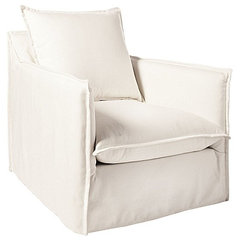 contemporary outdoor chairs by Serena & Lily